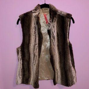 Eight Sixty Faux Fur Vest